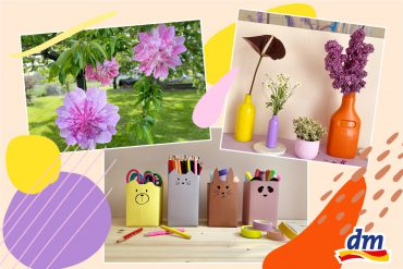 Bastelideen DIY Papier Upcycling Kinder