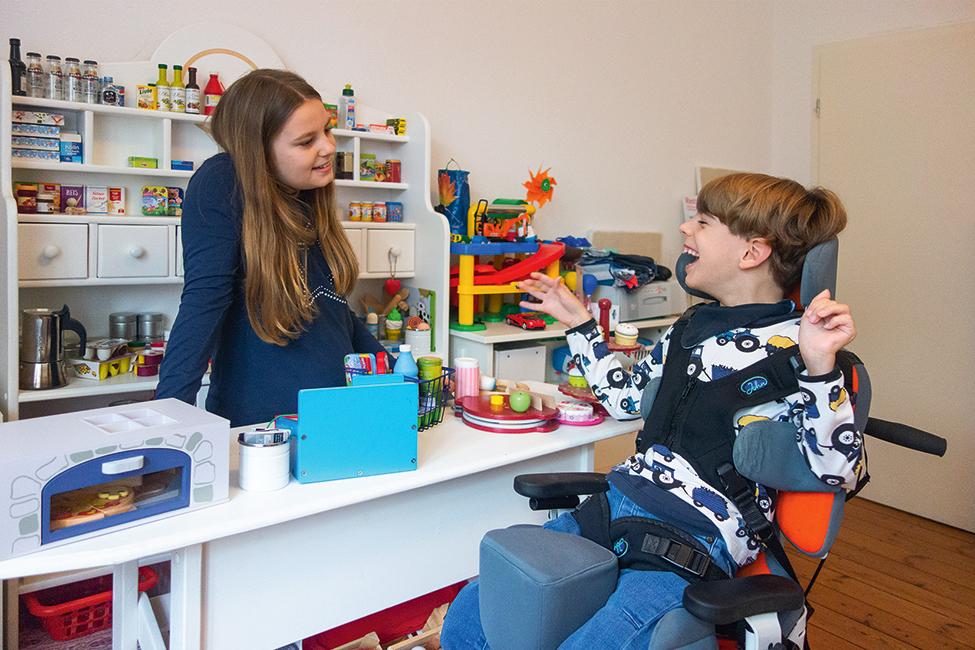 Leben mit einem behinderten Kind Familie Interview