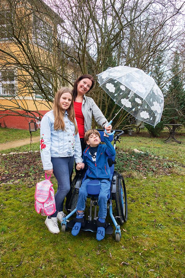 Interview Familie Kind Behinderung Alleinerziehend
