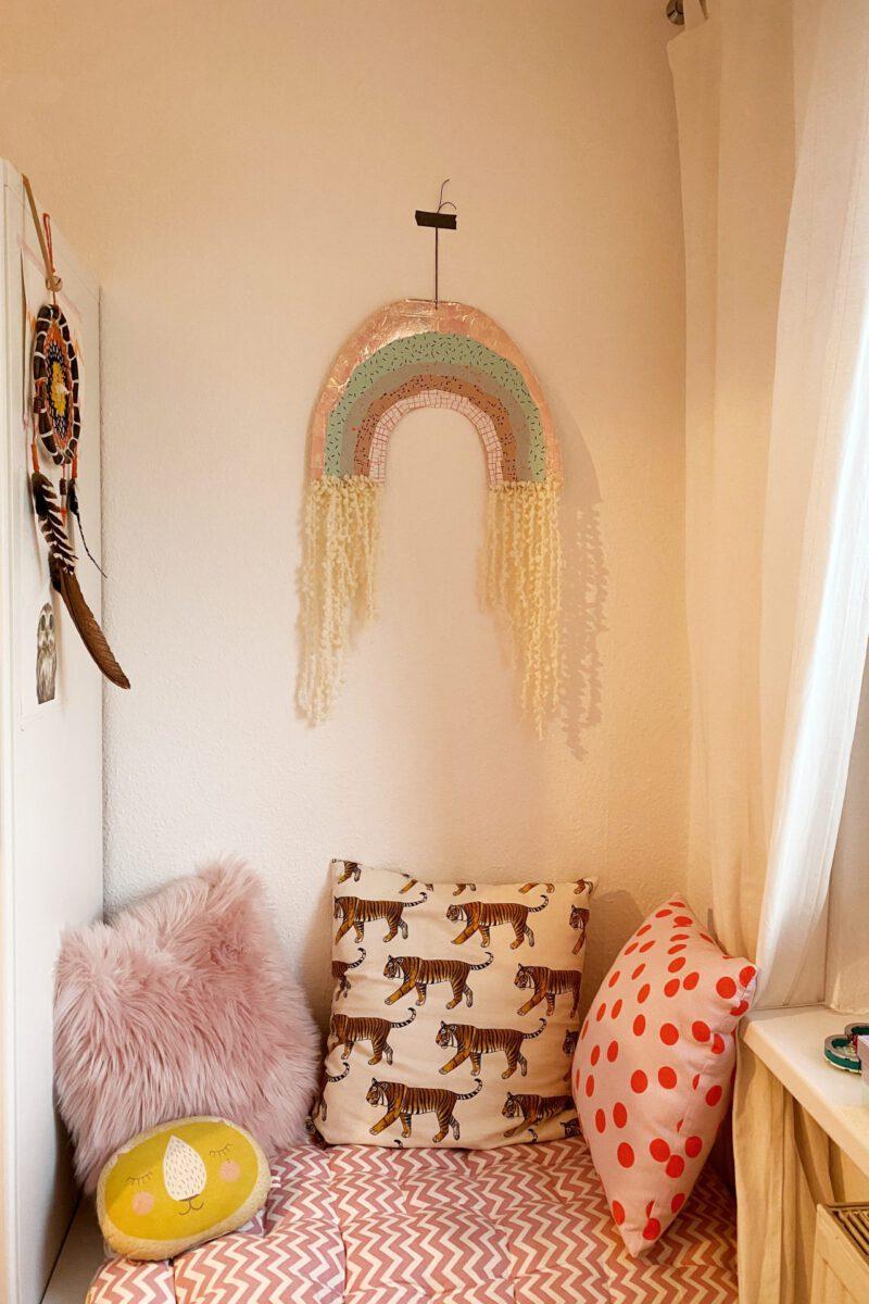Regenbogen DIY Kinderzimmer basteln