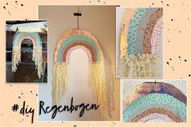 Regenbogen für das Fenster DIY