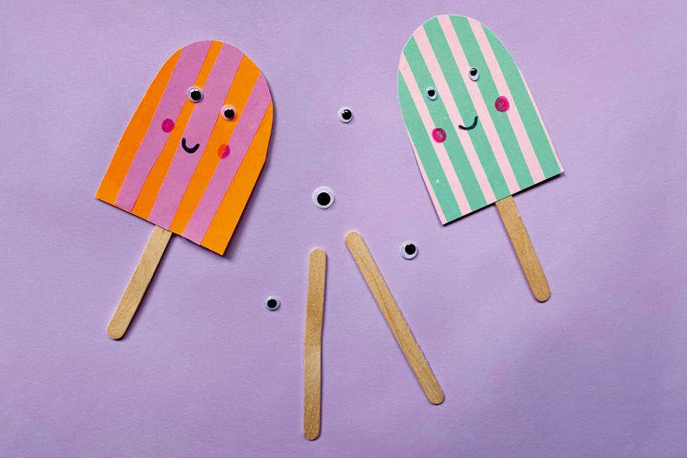 Eis-Girlande Sommerparty DIY basteln
