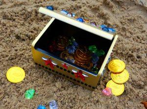 spiel kindergeburtstag geburtstag schatzkiste schatzsuche