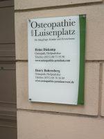 Osteopathie am Luisenplatz Heinz Diekamp und Henry Bahrenberg