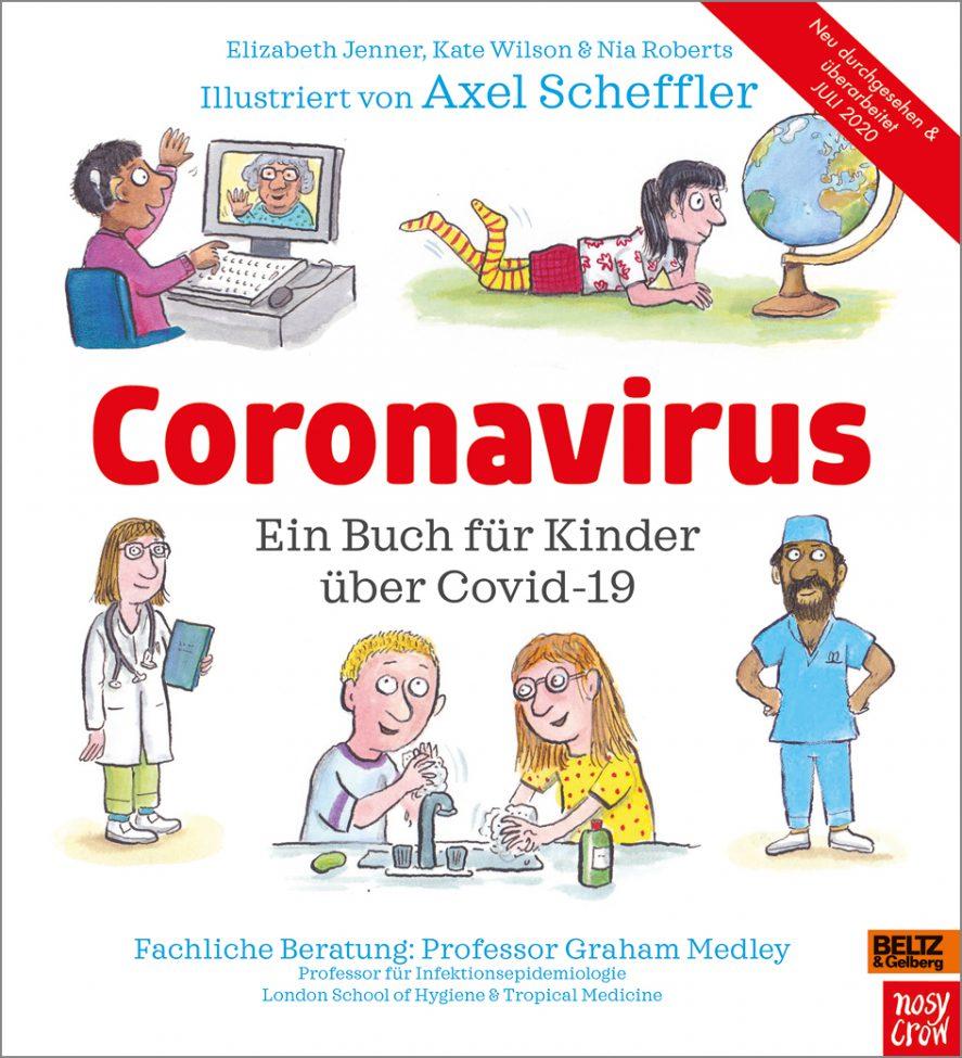 Corona-Kinderbücher lesen Gesundheit