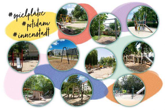Spielplätze in der Potsdamer Innenstadt Kinder Familie