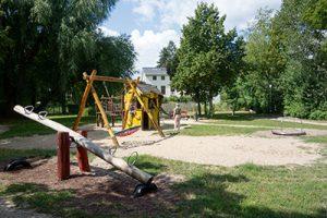 Spielplatz Potsdam Innenstadt spielen draußen