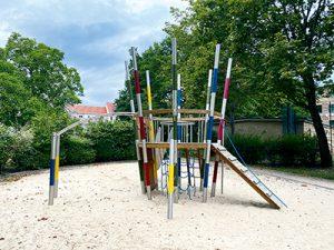 Spielpatz Innenstadt Potsdam Familie spielen draußen
