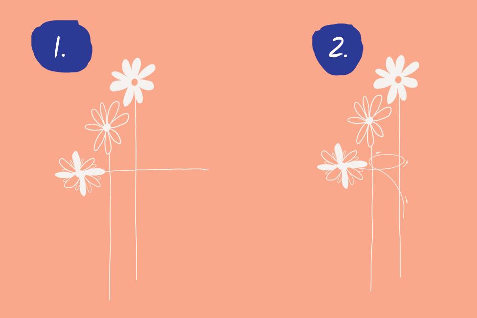 Blumenkranz selber machen DIY basteln