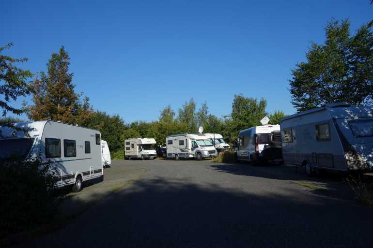 wohnmobil potsdam parkplatz krongut campingplatz stellplatz