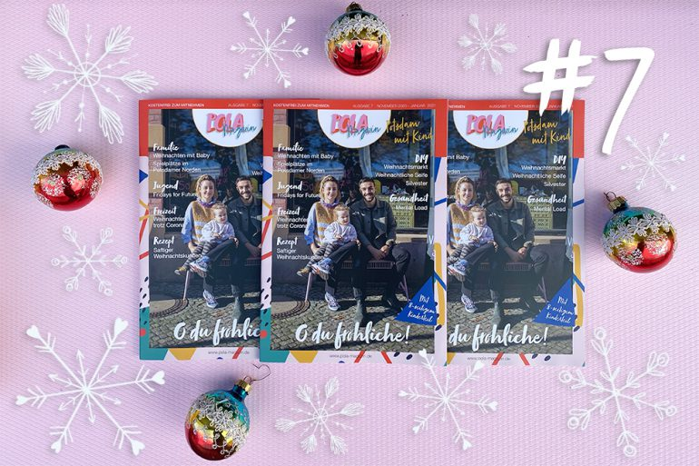 pola magazin heft 7 potsdam familie kind familienmagazin