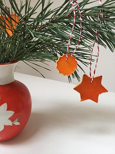 Rezept für Kinderpunsch Orangen DIY Weihnachten Anhänger