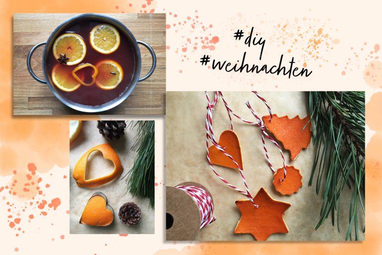 Weihnachtliche Orangen DIY Rezept