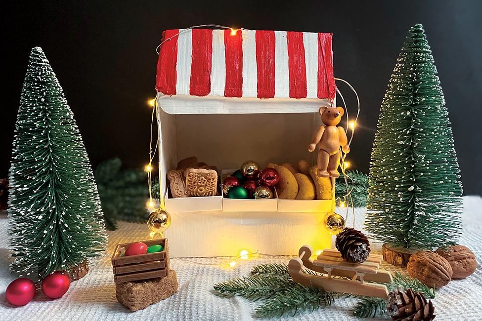 Weihnachtsmarkt basteln DIY Weihnachten