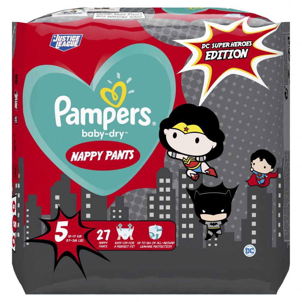 Pampers Super Heros Windeln Baby