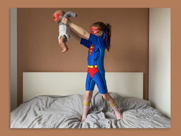 Pampers Super Heros Baby Windeln