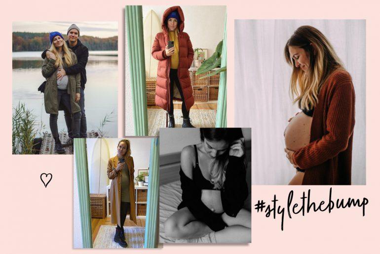 Style the bump Baby Babybuch Schwanger