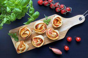 pizzaschnecken abendessen kindergeburtstag abendbrot rezept ideen buffet geburtstag