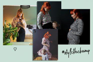 Style the bump Schwanger Baby
