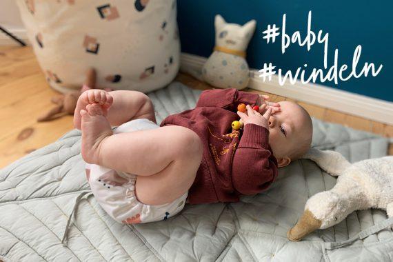 Windeln im Vergleich Baby wickeln