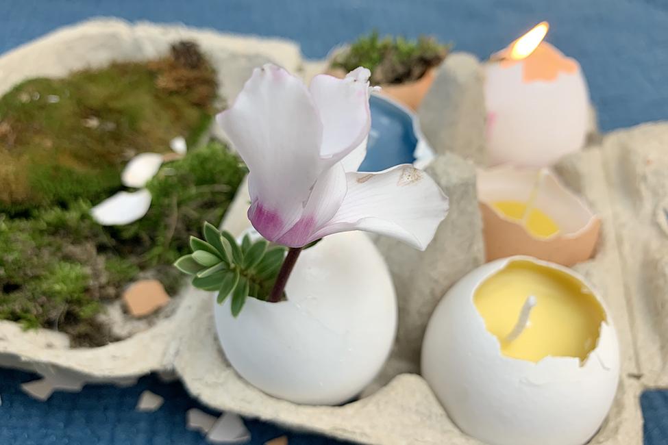 Kerzen Ostern Deko
