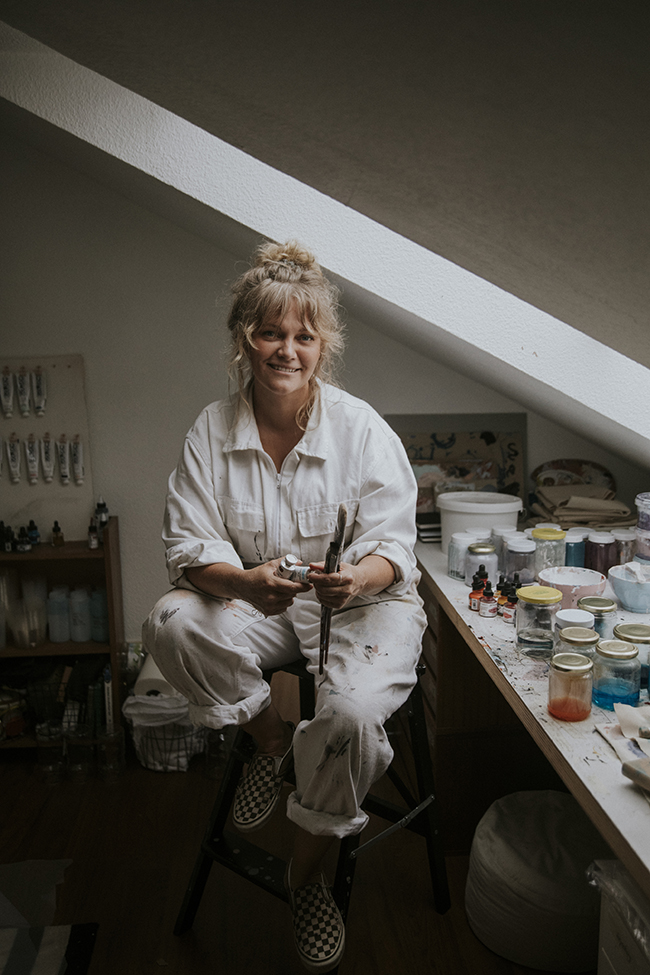 Ina Cierniak Interview Künstlerin