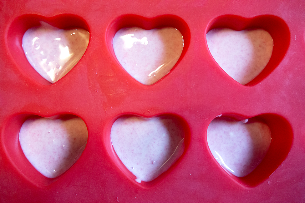 Herz-Pralinen Geschenk Muttertag Vatertag Rezept