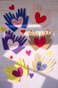 DIY Herzkarte Geschenk DIY Muttertag Vatertag