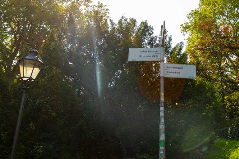 kinderwagen park sanssouci potsdam tour spaziergang runde