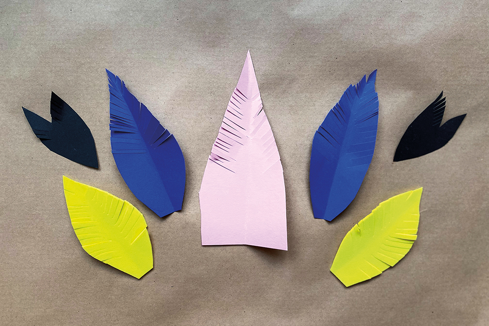 Vogelmaske DIY