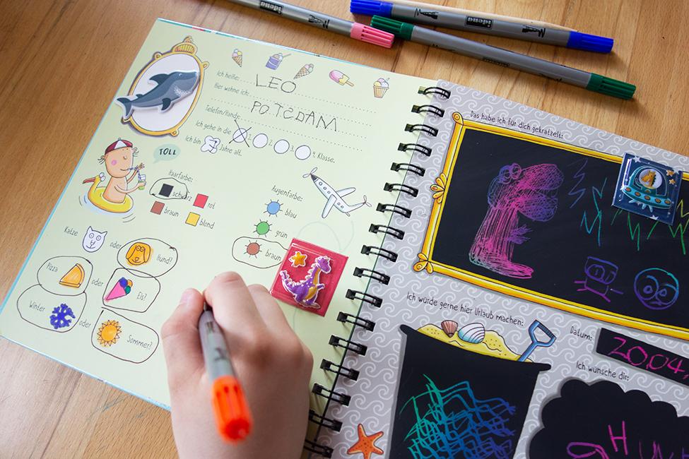 freundebuch kita schule teenager erwachsene freundebücher
