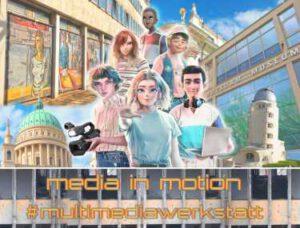medieninstitut sommerferien workshop medien potsdam media in motion