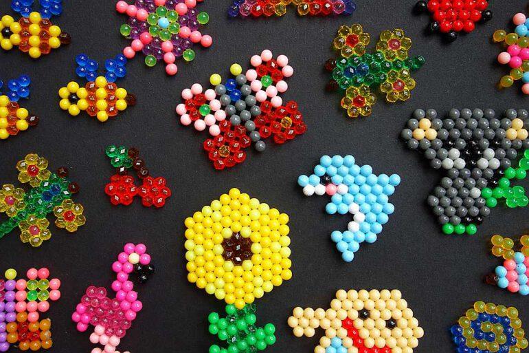 wasserperlen aqua beads anleitung vorlage