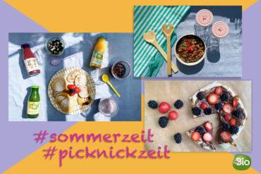 Picknick Picknickzeit Rezepte Sommer