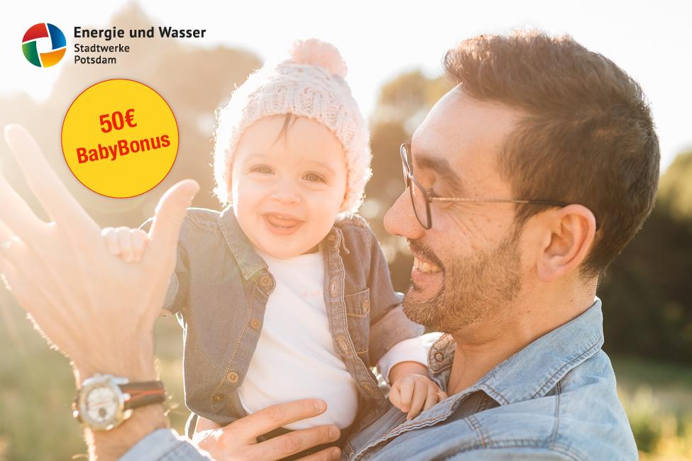 Für alle mit Nachwuchs: 50€ BabyBonus der EWP