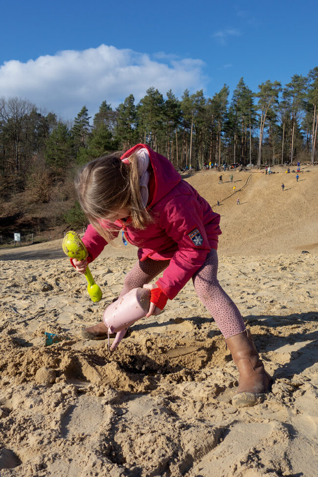 Sandgrube Berlin Ausflug Kinder