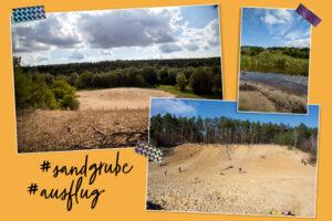Sandgrube im Grunewald Ausflug Familie Berlin