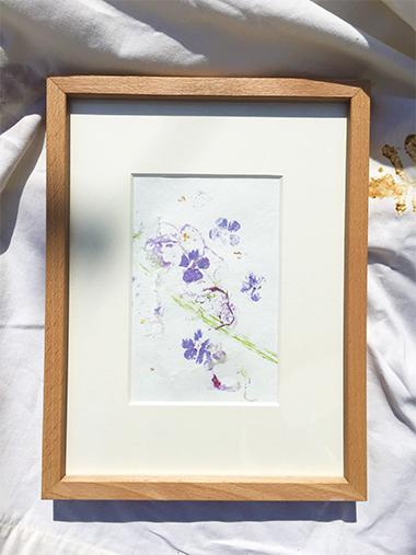 Blütendruck Blumendruck DIY