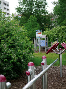 Spielplatz Potsdam West spielen Kinder