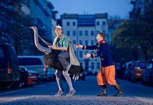 lindenpark coq a vin dieb im zirkus