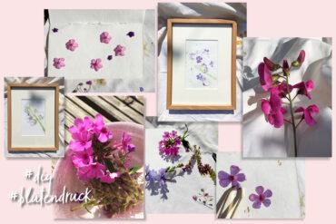 Blütendruck – ein wunderschönes DIY