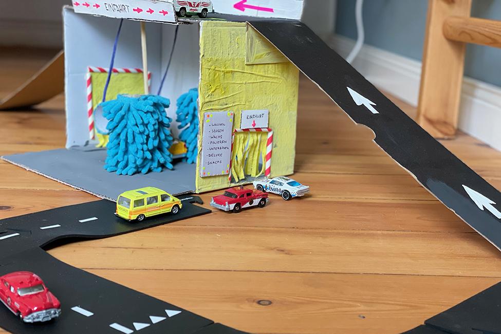 DIY Upcycling Pappe Karton