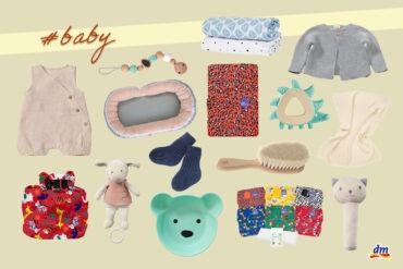Hurra, ein Baby! Nachhaltige Babyprodukte von dm