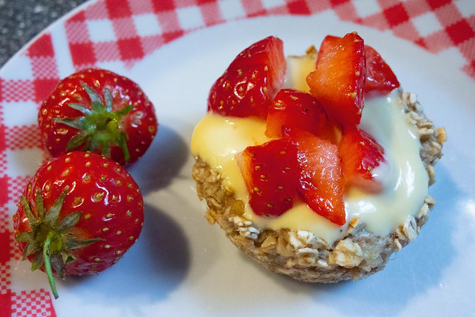 Fruchtbecher Frühstück Rezept