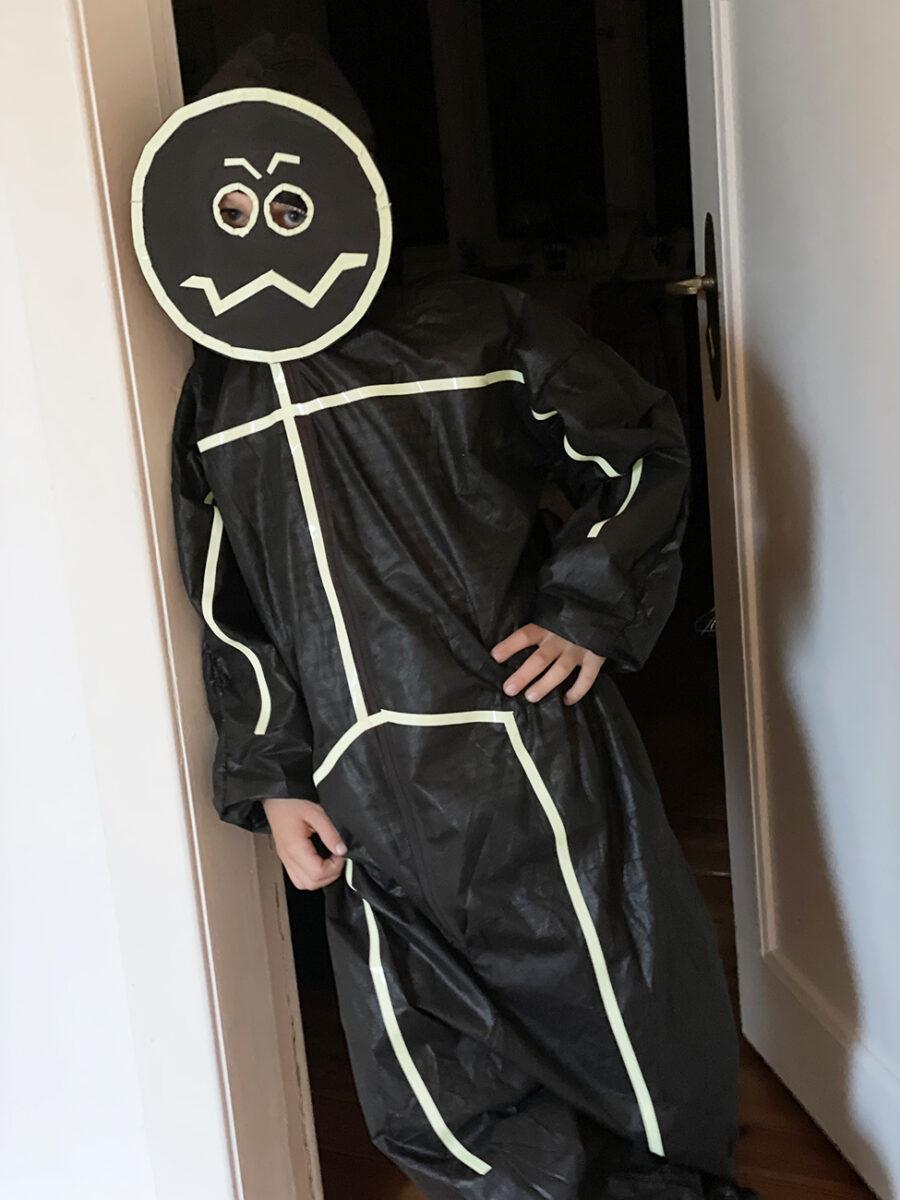 Halloween basteln Kostüm DIY Kinder
