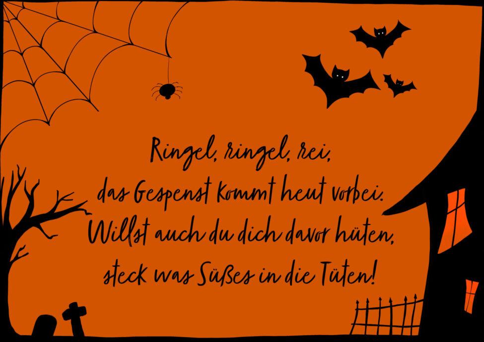 halloween sprüche spruch gedicht reim