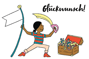 piraten kindergeburtstag download kostenfrei kostenlos glückwunschkarte karte