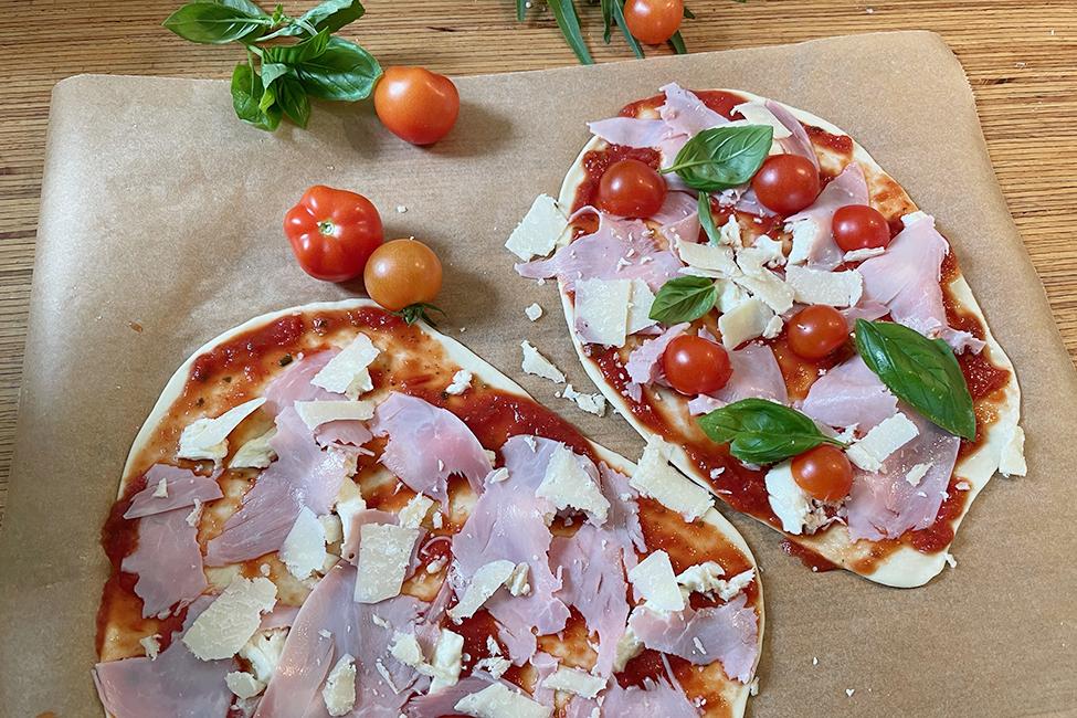 Pizza ohne Hefe Rezept Mittagessen Abendbrot