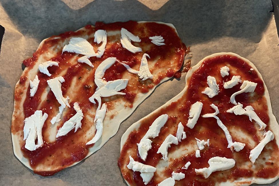 Pizza ohne Hefe Rezept Familie