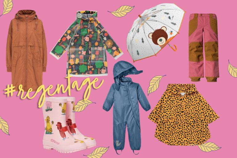 Regenkleidung Kinder Mamas Herbst Shopping